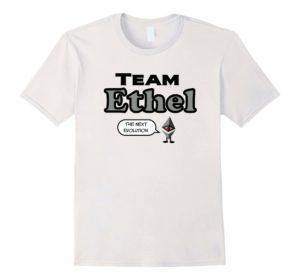 team ethel ethereum tshirt
