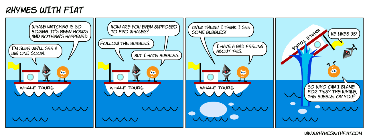 Bubbles and Whales